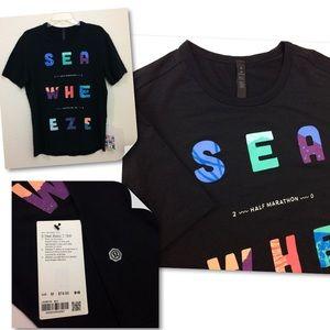 Lululemon Men Seawheeze Half Marathon 2018 T-Shirt